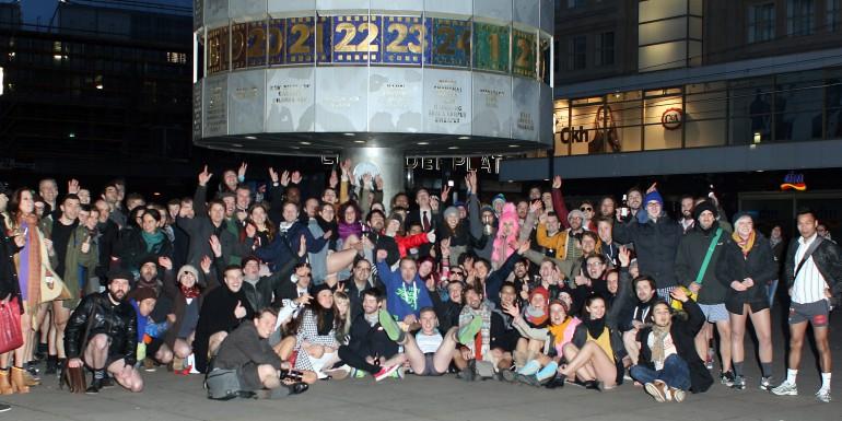 Gruppenfoto des NPSR 2014 in Berlin