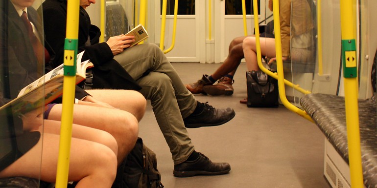 No Pants Subway Ride Berlin 2015